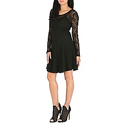 Pussycat London - Black woven dress
