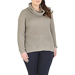 Samya - Grey turtle neck jumper