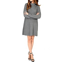 Alice & You - Grey turtle neck swing dress