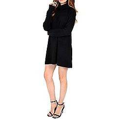 Alice & You - Black turtle neck swing dress