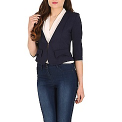 Cutie - Navy fitted blazer