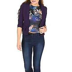 Cutie - Purple fitted blazer