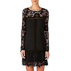 Zibi London - Black lace shift dress