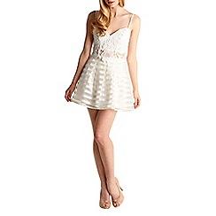Zibi London - White lace cami top