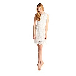 Zibi London - White lace dress