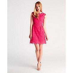 Zibi London - Pink lace dress