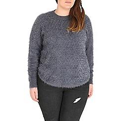 Samya - Grey knitted pullover