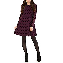 Sugarhill Boutique - Wine top cat dress