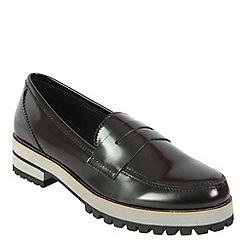 Keddo - Black chunky loafer