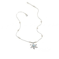 Banyan - Silver silver and pearl necklace
