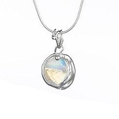 Banyan - Silver moonstone pendant