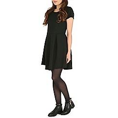 Damned Delux - Black ottoman dress