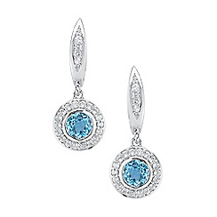 The Genuine Gemstone Company - Silver sterling silver earrings