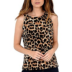 Alice & You - Brown sleeveless shell top