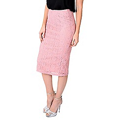 Alice & You - Pink lace pencil skirt
