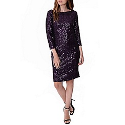 Alice & You - Purple sequin sleeved bodycon dress