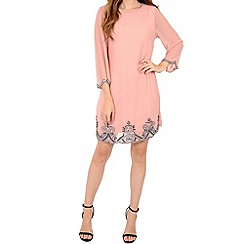 Alice & You - Pink embellished tunic dress