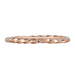The Genuine Gemstone Company - Rose 9k rose gold ring