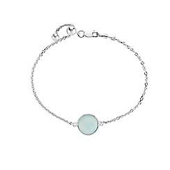The Genuine Gemstone Company - Blue amethyst pendant necklace