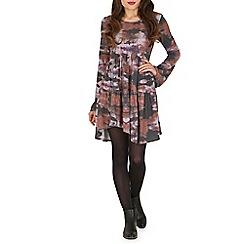 Damned Delux - Multicoloured willow boho dress