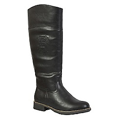 Keddo - Black riding boot