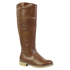 Keddo - Brown riding boot