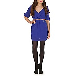 Madam Rage - Blue wrap dress
