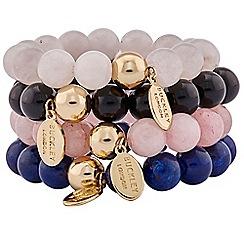 Buckley London - Multicoloured demi precious bracelet