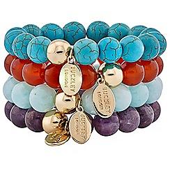 Buckley London - Multicoloured semi precious bracelet