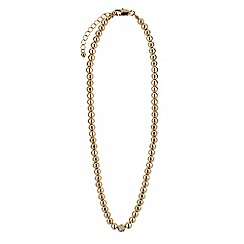 Buckley London - Gold bead necklace
