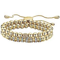 Buckley London - Gold simplicity bead bracelet