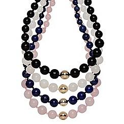 Buckley London - Multicoloured semi precious necklaces