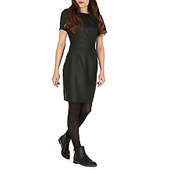 Sugarhill Boutique - Black betsy perforated dress