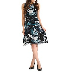 Sugarhill Boutique - Aqua livvy icey print  dress