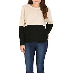 Poppy Lux - Cream rita jumper