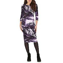 Indulgence - Multicoloured animal print dress