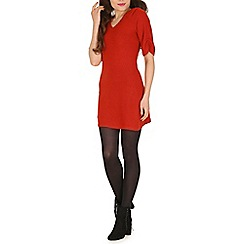 Pussycat London - Red casual knit dress