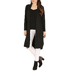 Indulgence - Black long sleeve cardigan