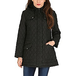 David Barry - Black diamond stich parka