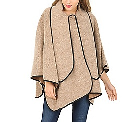 David Barry - Camel wool mix cape