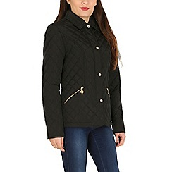 David Barry - Black diamond quilted jacket