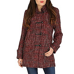 David Barry - Red trimmed tweed jacket