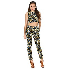 Madam Rage - Multicoloured floral trouser