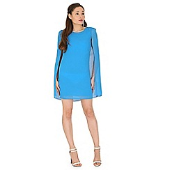 Madam Rage - Blue cape dress