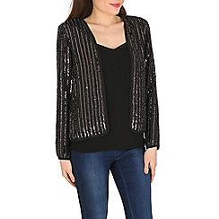 Mela - Black sequin jacket
