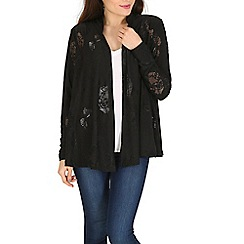 Mela - Black black lace jacket