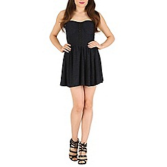 Madam Rage - Black skater dress