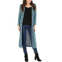 Indulgence - Blue cotton knit cardigan