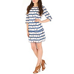 Sugarhill Boutique - Blue bark in the park dress