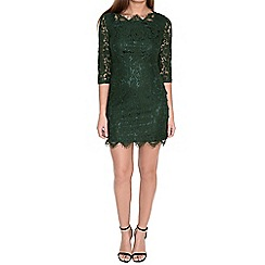 Alice & You - Olive scallop lace dress